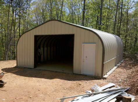 Quonset Hut Storage Sheds